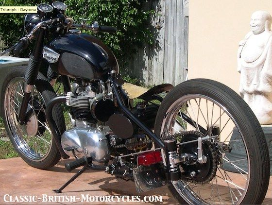 triumph chopper, triumph choppers, triumph bobber, triumph bobbers, custom triumph motorcycles, motorcycle shows