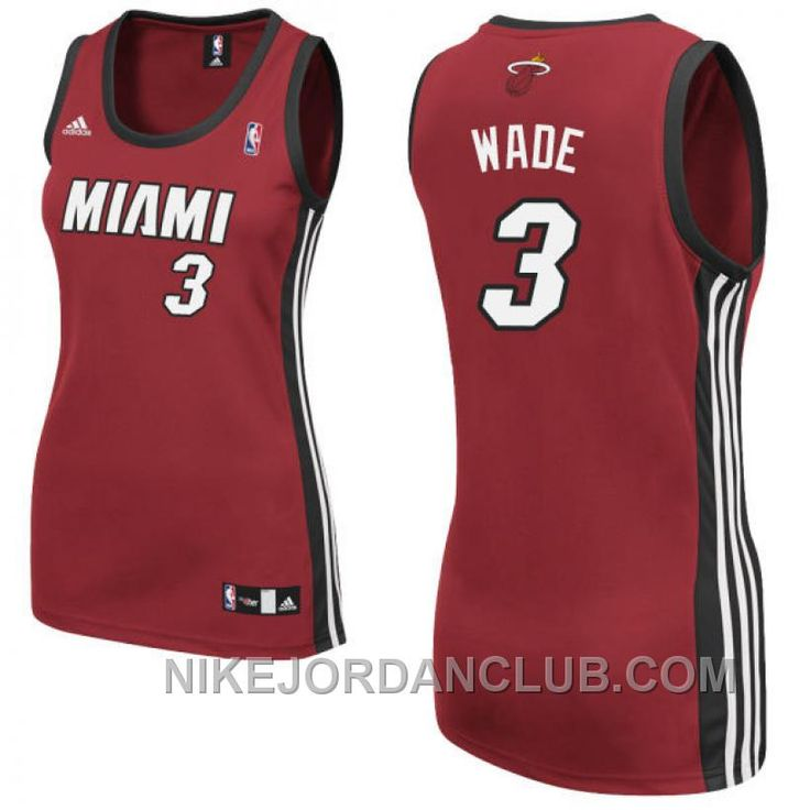 http://www.nikejordanclub.com/dwyane-wade-miami-heat-3-women-red-jersey-top.html DWYANE WADE MIAMI HEAT #3 WOMEN RED JERSEY TOP Only $71.00 , Free Shipping!