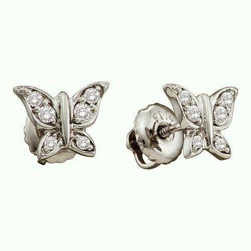 14 best 14k Solid White Gold Earrings Huggie Hoops Set images on