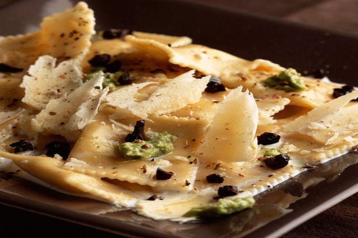 Truffle Ravioli With Creamy Truffle Sauce - Truffle Traders