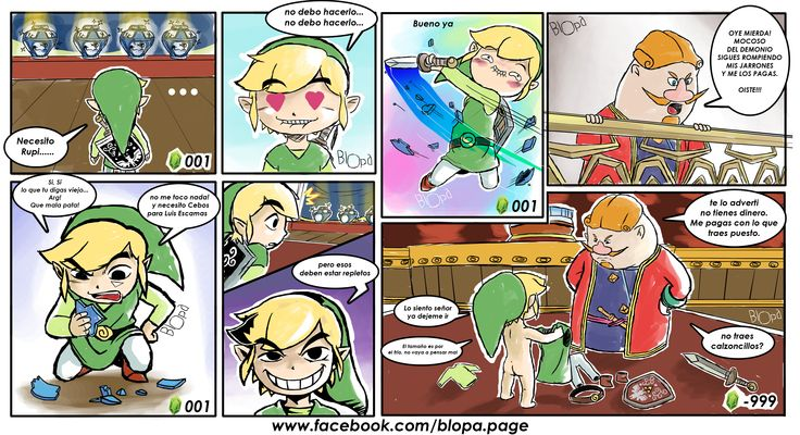 Zelda wind waker (Original) www.facebook.com/blopa.page