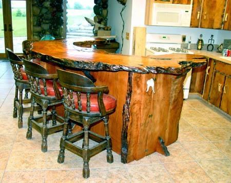 This Burl Redwood Bar Was Handcrafted By Woodland Creek Furniture. If You  Are Interested In This Beautiful Piece Of Furniture, You Can Find The Link  At The ...
