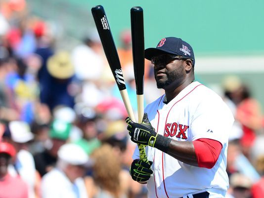David Ortiz, thank you Red Sox for being smart enough to not let this man get away!!