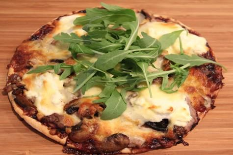 The secret to good pizza is the flavour combinations - here's a delicious Merlot Pizza
