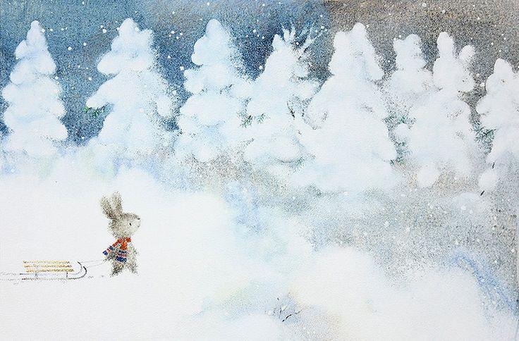 Волшебные краски... Мягкие линии... Сказка! Художник - иллюстратор Leonid Gore