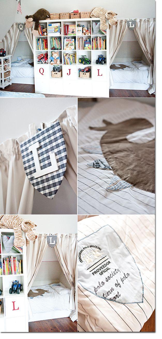 Die Besten 25 Geteilte Schlafzimmer Ideen Auf Pinterest . Tolle Kinderzimmer  Design Idee ...