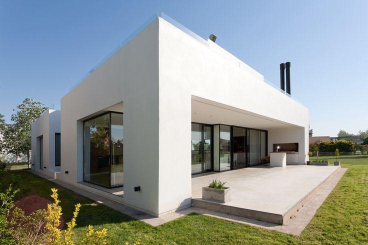Diseño de casa moderna - vista zona social