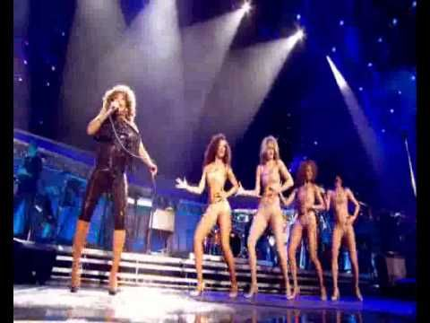 TINA TURNER LIVE IN CONCERT 2009 performing Steamy Windows and Typical Male. Keep in mind this rock legend is 70 years old in the video. Awesome!!