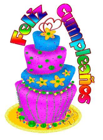 """༻✿ღ‿§§R♥Z§§ღ‿✿⊱╮ ☆.•*""""˜˜""""*•.¸☆ ★ ☆¸.•*""""˜˜""""*•.¸☆ ☾ °☆ ★RUMA★ Tartas de Cumpleaños para Felicitar"""