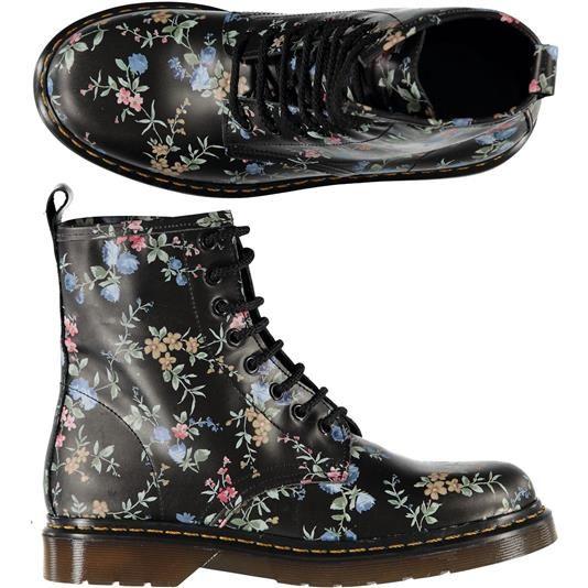 Scarponcini con lacci fiorati - € 64,90 | Nico.it - #britishlook #winterfashion #boots