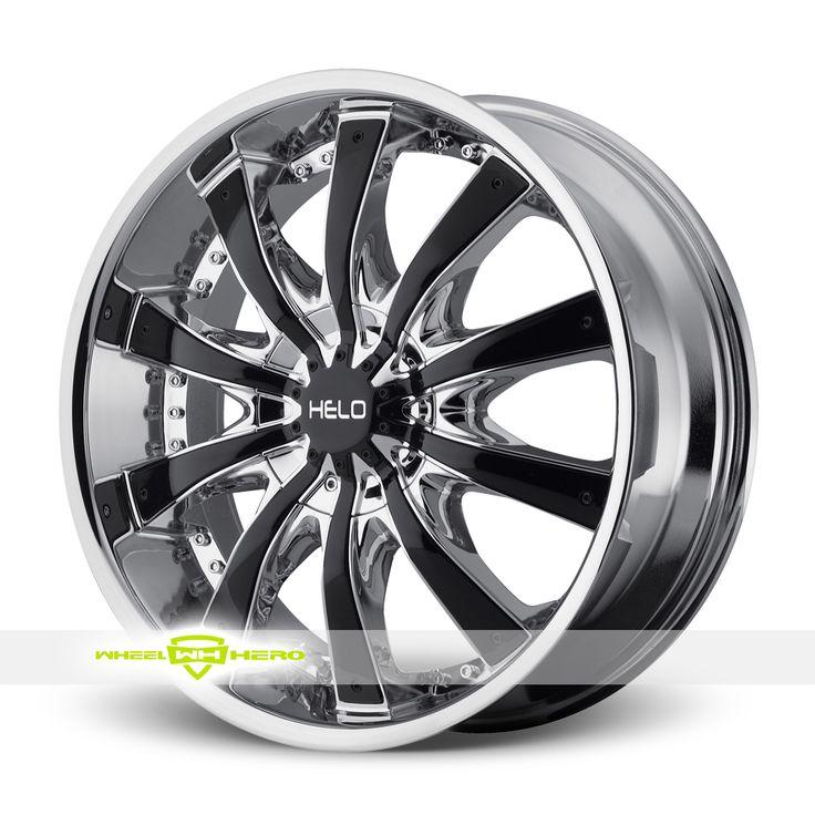 Helo HE875 Chrome Wheels For Sale- For more info: http://www.wheelhero.com/customwheels/Helo/HE875-Chrome