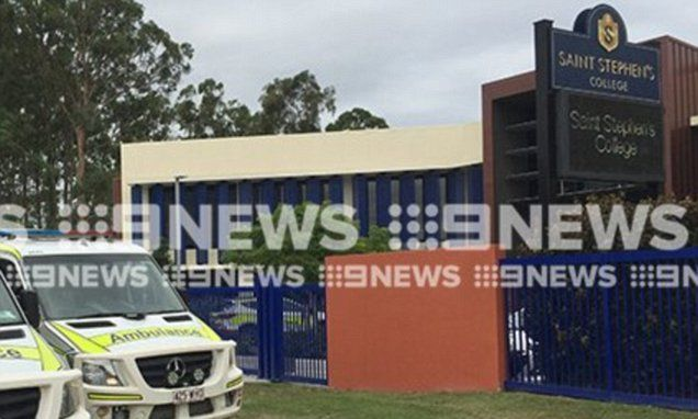 Seven students severely ill as 'mass poisoning' at Gold Coast school sees paramedics rush to the scene #college