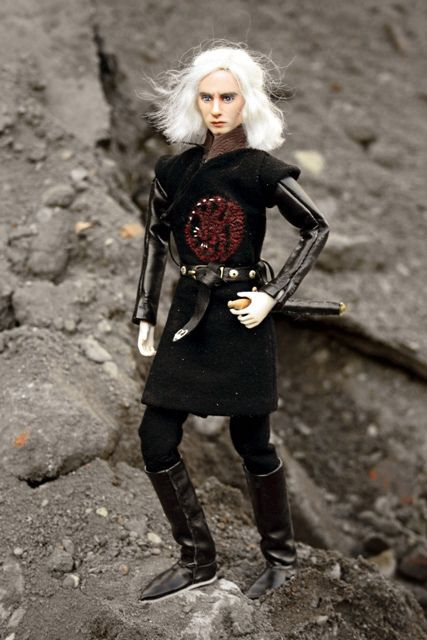 doll viserys targaryen game of thrones dolls and gaming. Black Bedroom Furniture Sets. Home Design Ideas