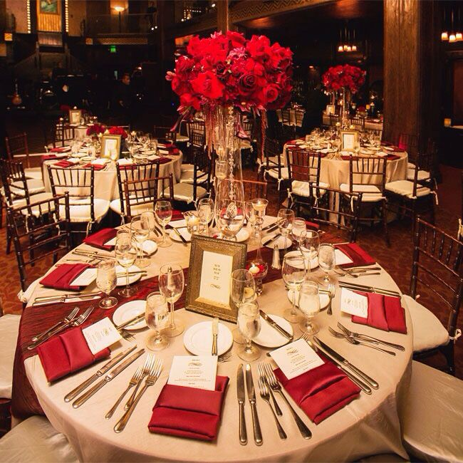 Best 25+ Red wedding receptions ideas on Pinterest | Red wedding ...