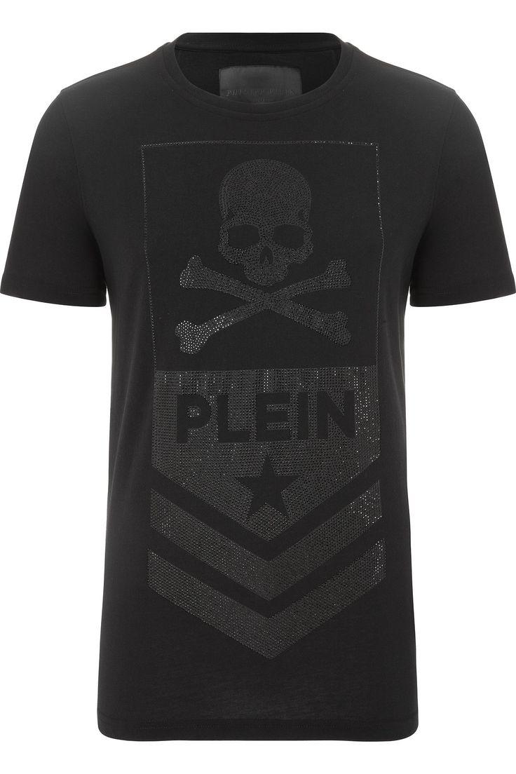 """PHILIPP PLEIN - Official Website   T-SHIRT """"PLEIN""""   PHILIPP PLEIN HOMME"""