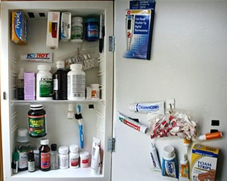 Medicine Cabinet Rv Storage Tips Travel Interesting Places Camping Pinterest Camper And Organization