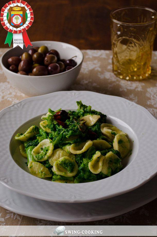 L'emblema della cucina tipica Pugliese: GLI STRASCINATI CON LE CIME DI RAPA! una ricetta semplice e gustosissima, illustrata con grande chiarezza, come sempre, da Elisabetta Brescia - Swing Cooking: http://www.dallapianta.it/blog/ricette-pugliesi-strascinati-cimedirapa/