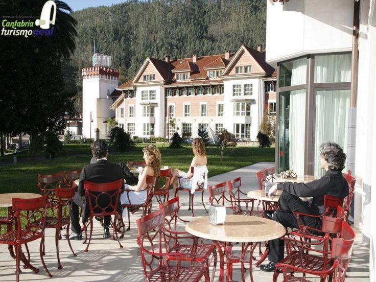 Thermal hotel in Puente Viesgo, Cantabria, Spain