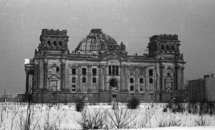 Reichstag, Berlin 1953
