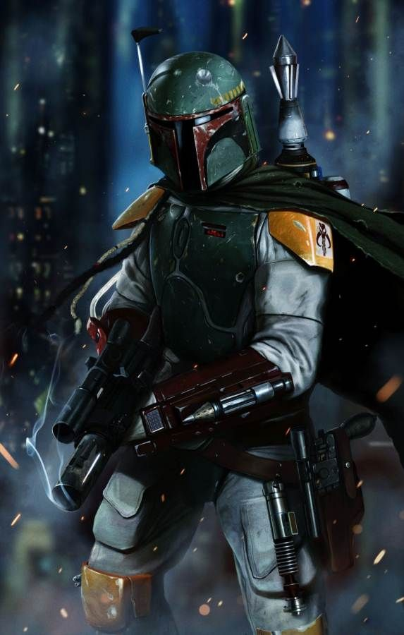 The Empire Strikes Back introduced the world to one of the baddest bounty hunters in any galaxy... Boba Fett!