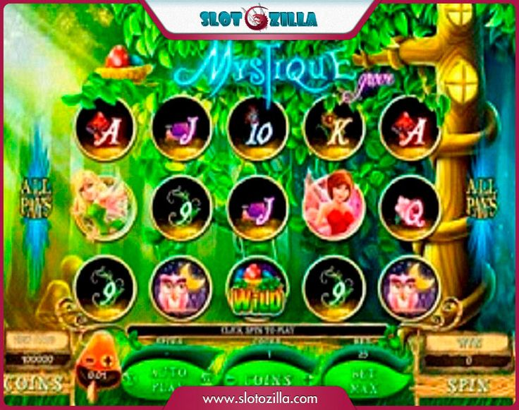 Mystique Grove free #slot_machine #game presented by www.Slotozilla.com - World's biggest source of #free_slots where you can play slots for fun, free of charge, instantly online (no download or registration required) . So, spin some reels at Slotozilla! Mystique Grove slots direct link: http://www.slotozilla.com/free-slots/mystique-grove