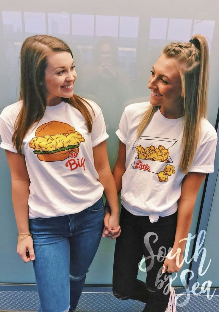 Big Little | Sorority Greek Life | Chickfila Spicy Chicken | 8 Count Meal | South by Sea | Greek T-Shirts | Greek Tank | Custom Greek Apparel | Sorority T-Shirts | Sorority Tanks | Sorority Shirt Designs | Sorority Recruitment | Sorority PR Shirt