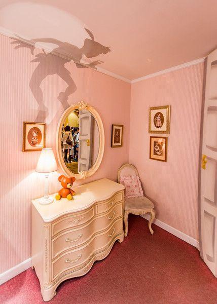 Sombra de Peter Pan (dormitorio)