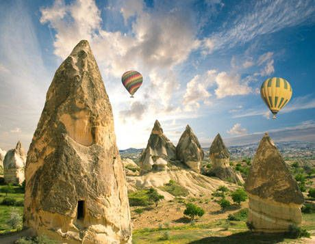 10 days Turkey tour package to Ephesus, Pamukkale, Gulet Cruise, Antalya, Cappadocia
