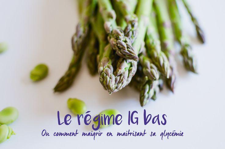 Le point sur l'indice glycémique et le régime #IGbas... Ou comment maigrir en maîtrisant sa glycémie !