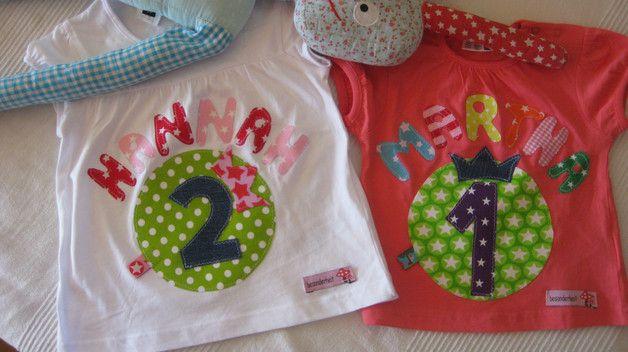 Einzigartig, wunderschön,individuell und cool wird ihr selbst gestaltetes Geburtstagsshirt für Ihr Kind !!!! Die abgebildeten Shirts dienen nur als Beispiel, wie es aussehen könnte;) Sie haben...