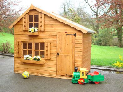 Playhouses for Sale | Storey Wooden Playhouse For Sale For Sale in Adamstown, Wexford from ...