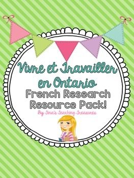 Looking for French research resources for your Living and Working in Ontario Unit? These information pieces will provide your students with some age appropriate information about the land regions and 8 specialized communities in Ontario*Note!! All pages for student use fully in age appropriate French.