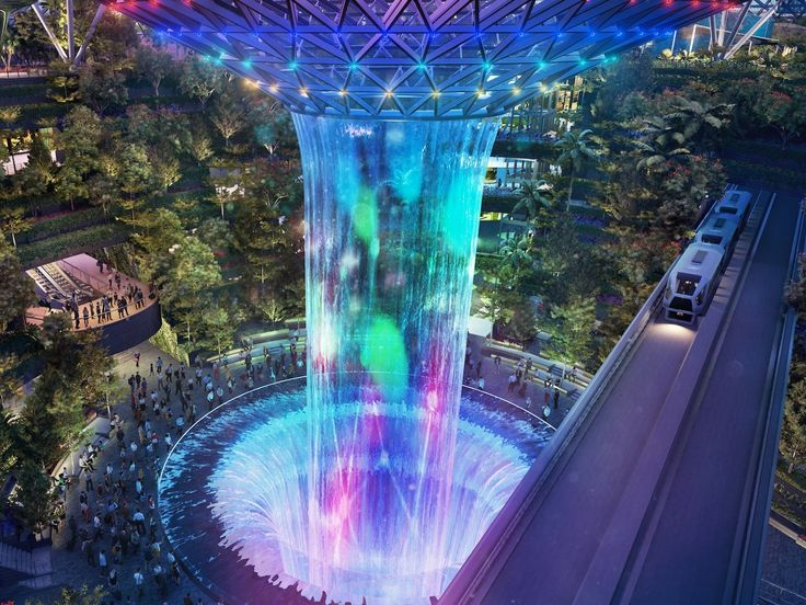 The best airport in the world is building a $1.7 billion indoor forest and waterfall