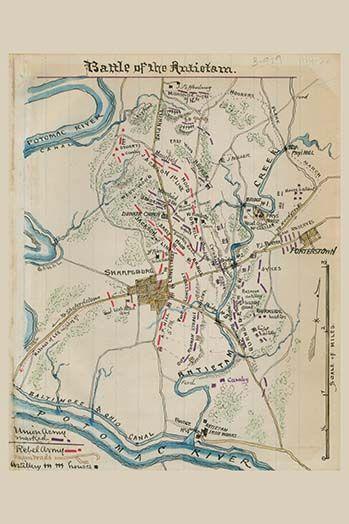 Battle of Antietam or Sharpsburg - Art Print  #9785872334514 #Buyenlarge #CivilWar #New #USA