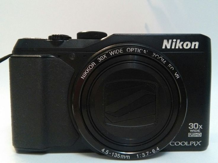 Nikon Coolpix S9900 16.0MP 3''SCREEN 30X ZOOM DIGITAL CAMERA WIFI BLACK | eBay