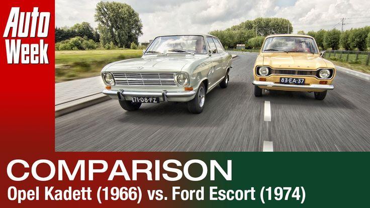 Classics Dubbeltest - Opel Kadett [1966] vs Ford Escort [1974]