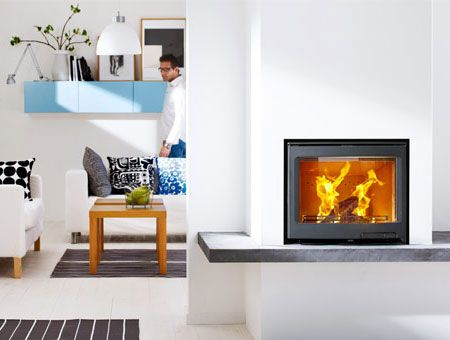Contura i5 Panorama insert wood burning stove