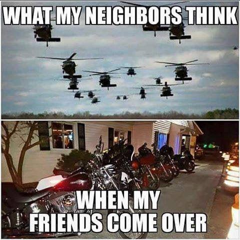 HAHA They just need to deal! #bikerhumor #chopperexchange