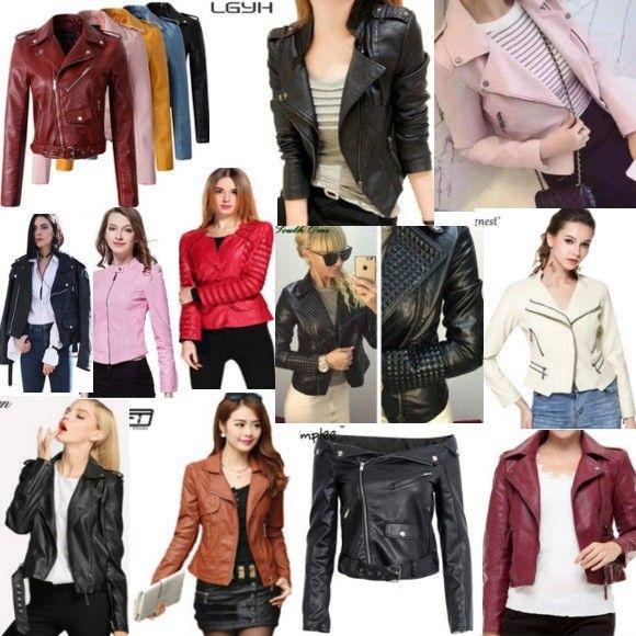 Кожаные куртки на АлиЭкспресс