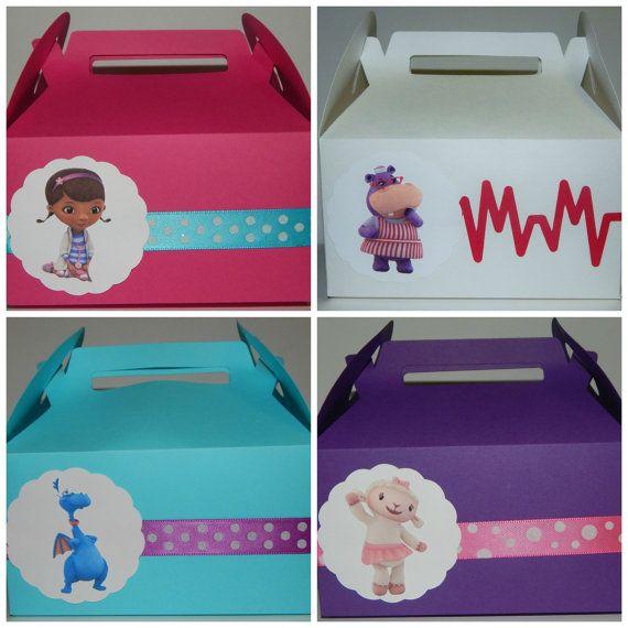 Doc McStuffins Favor Box by DesignsByKerriB on Etsy