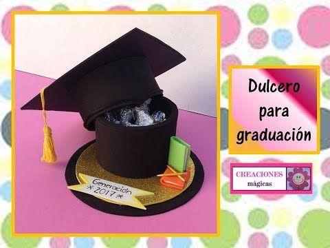 ♥♥ Dulcero para graduación - Creaciones mágicas♥♥ - YouTube