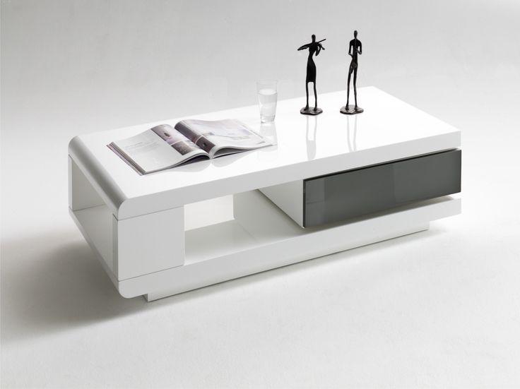 Couchtisch Weiss Grau Hochglanz Woody 41 00842 MDF Modern Jetzt Bestellen Unter Moebelladendirektde Wohnzimmer Tische Couchtische Uiddfe07b65
