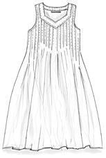 Gundrun Sjoden - simple pintuck shirt - make with linen or cotton.