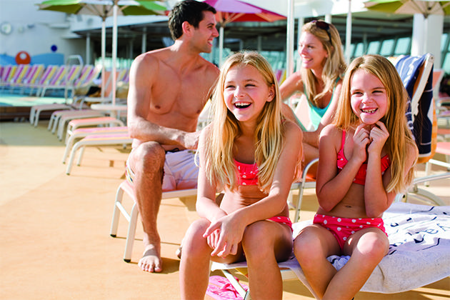 Let us help you choose the best cruise ship for your family, whether you're traveling with little kids, teens or a multigenerational group.