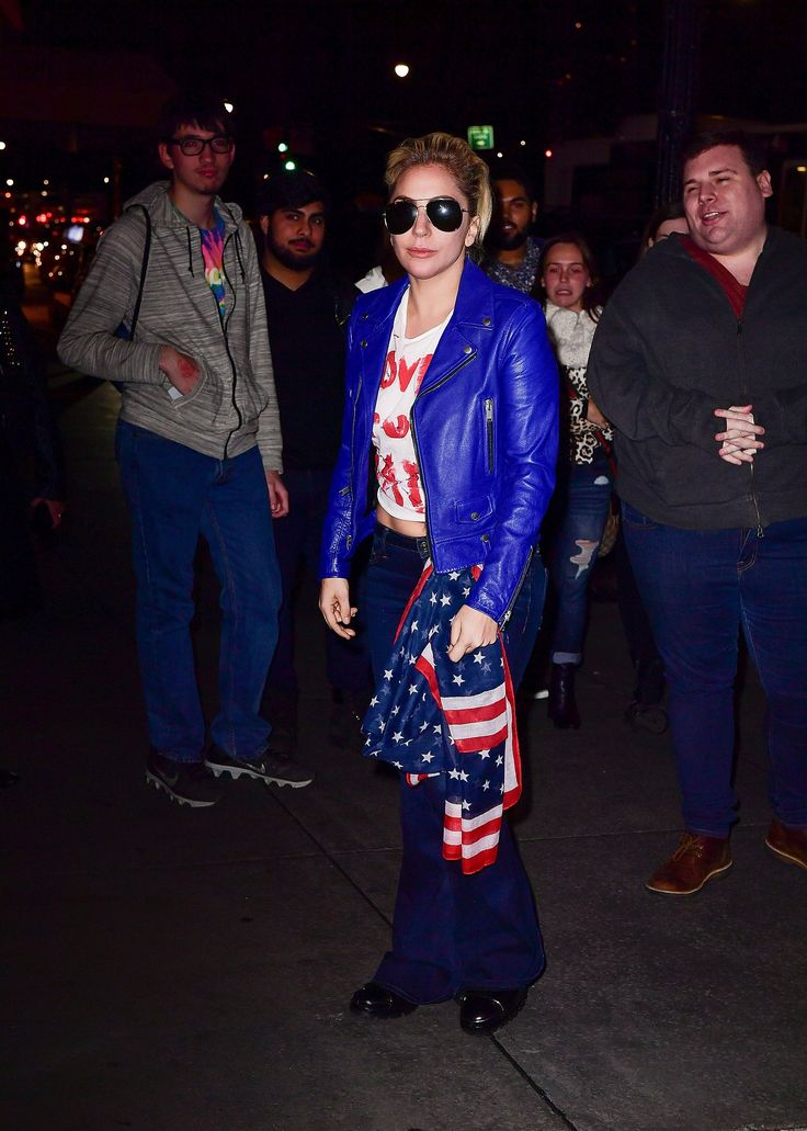 Lady Gaga Protests the Presidential Election With a Peaceful Message