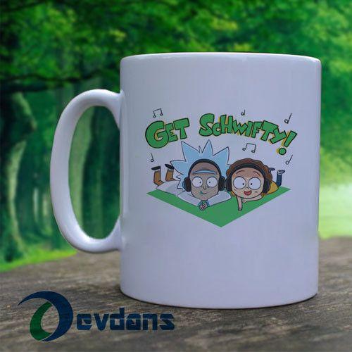 Get Schwifty - Rick and Morty by ecokitty Mug, Ceramic Mug,Coffee Mug