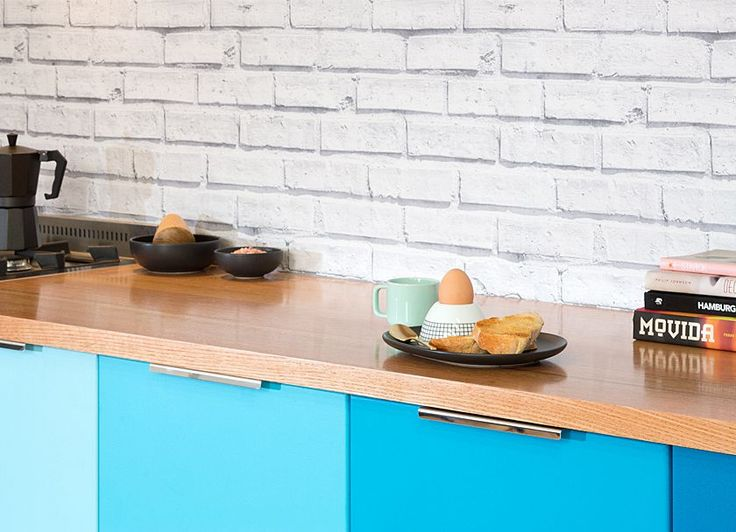 Check out our new vic ash solid timber benchtop. Visit kaboodle.com.au for more inspiration!