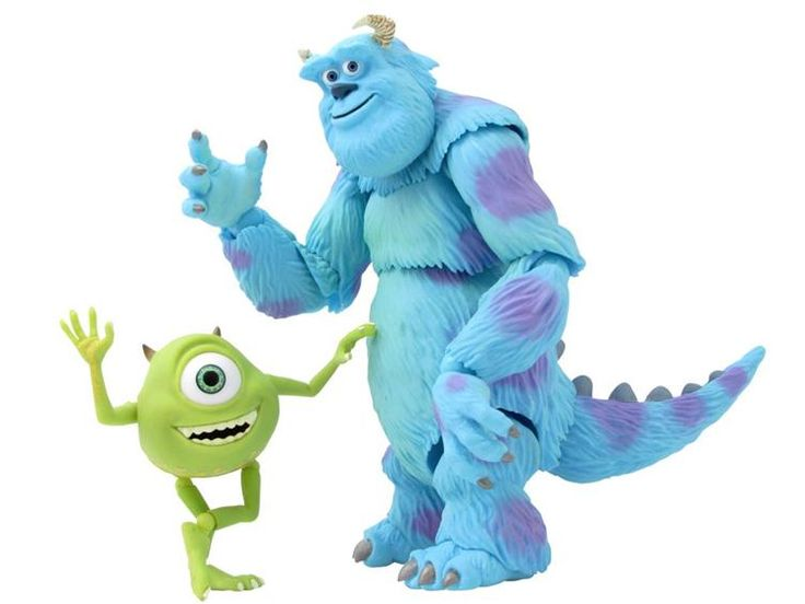 Sulley & Mike - Disney Monsters Inc. $54.99: No 028 Sulley, Figures Sulley, Disney Monsters, Sulley Mike, Figures Kaiyodo, No028 Sulley, Mike サリー, Action Figures, 028 Monsters