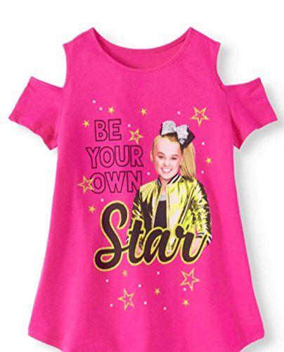 35b9fafa649 Girls Be Your Own Star Fashion T-Shirt Pink