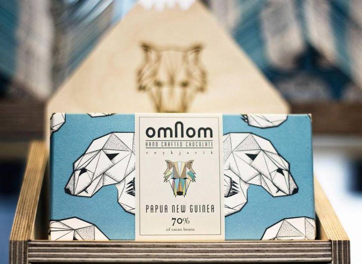 omnom chocolate packaging
